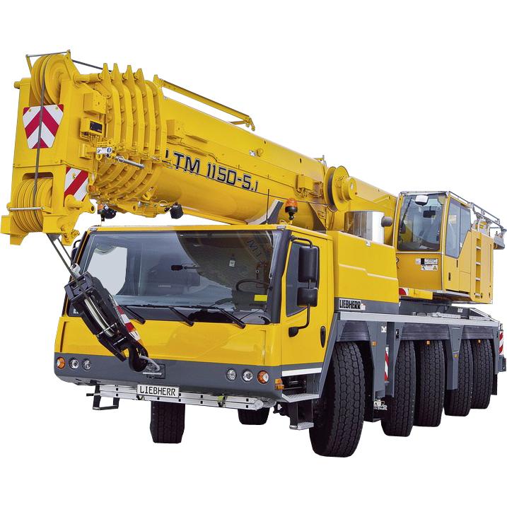 Автокран LIEBHERR LTM 1150, 150т