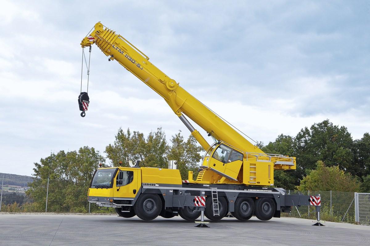 Автокран Liebherr LTM 1150 150 тонн