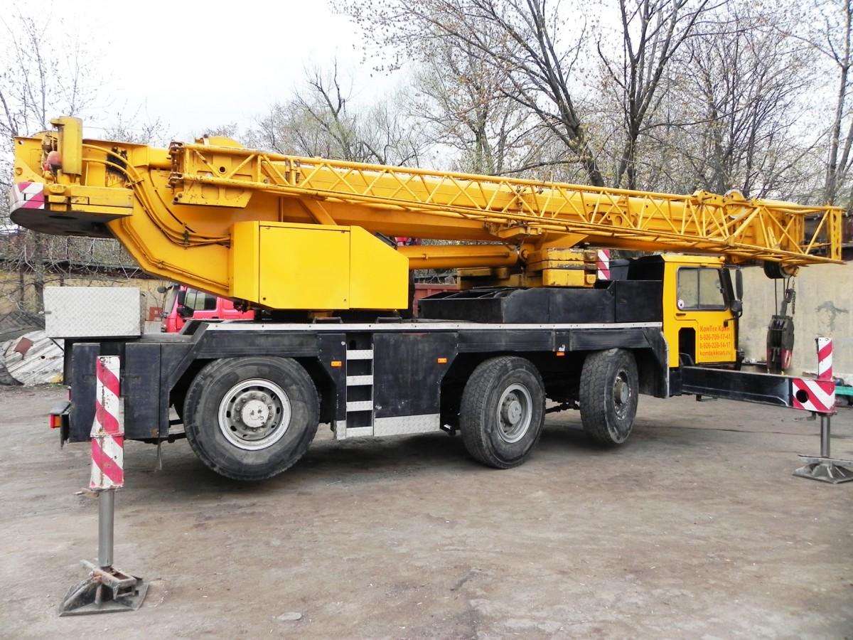 Автокран Liebherr LTM 1050 50 тонн