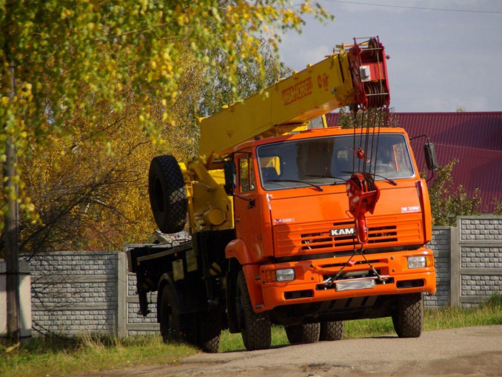 Автокран Ивановец КС-35714К-3, 16 т