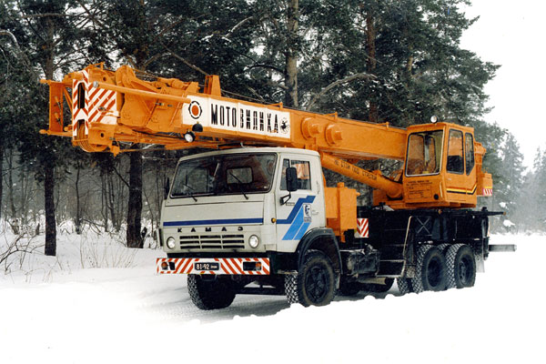Автокран Мотовилиха КС-5579.2 грузоподъёмностью 25 тонн