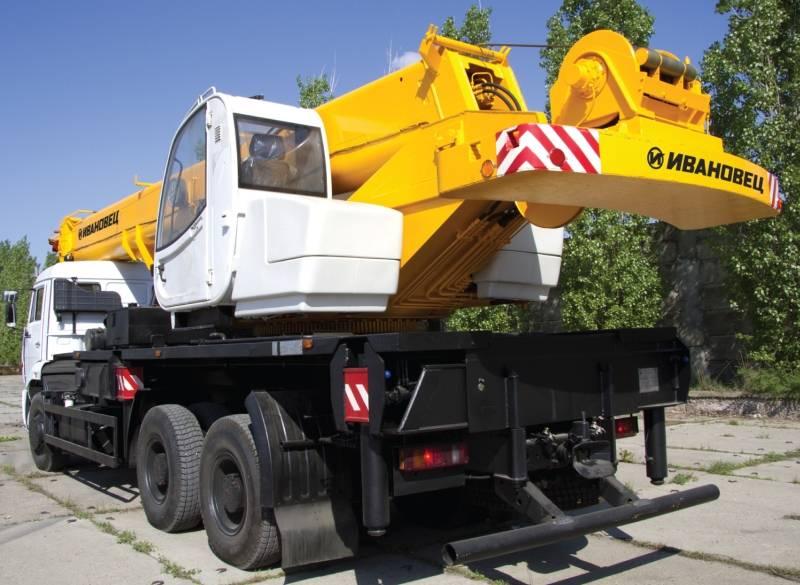 Автокран Ивановец КС-65740-1 ОВОИД 40 тонн