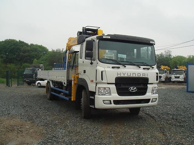 Манипулятор Kanglim Hyundai-Trago, 7,1 Тн