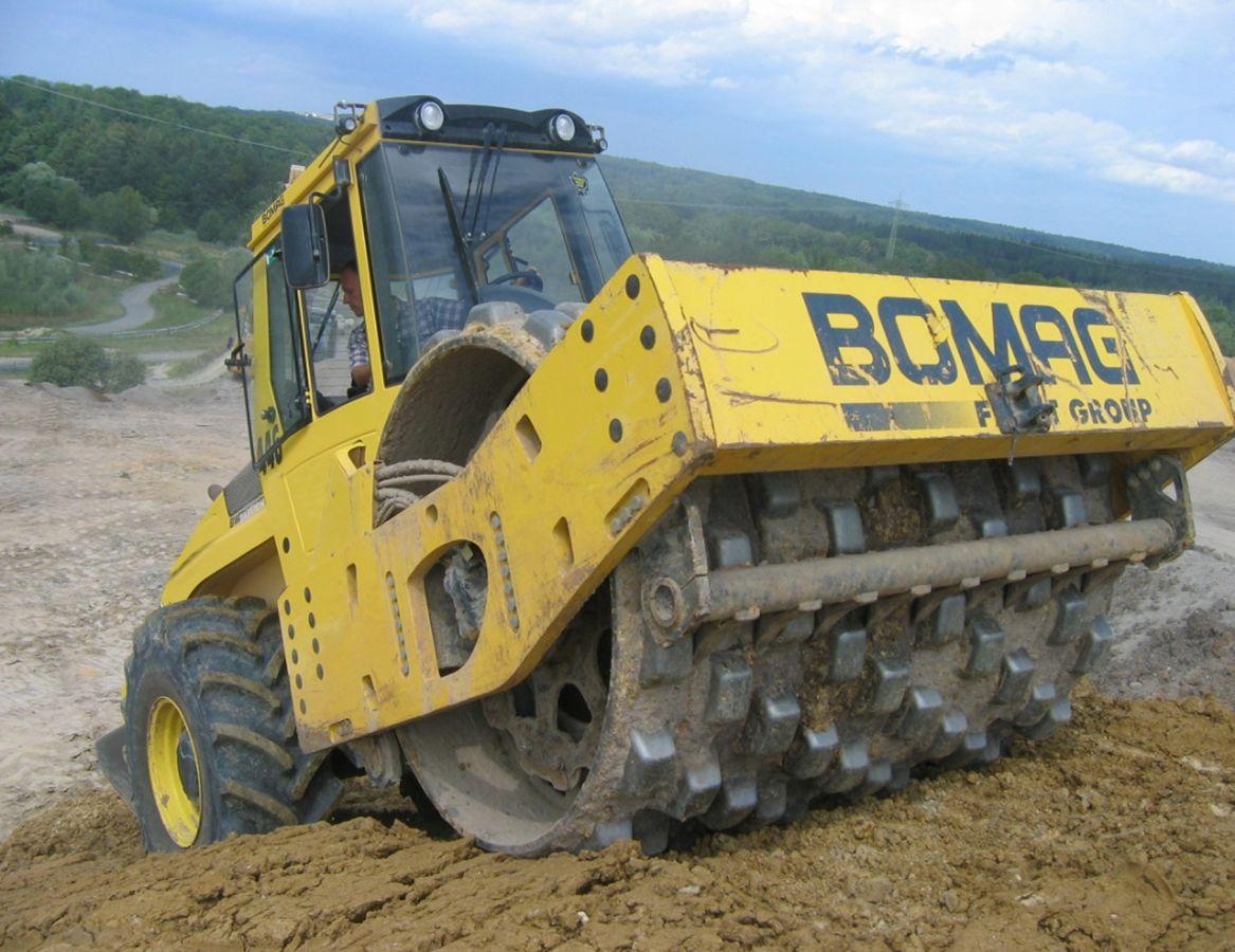 Каток BOMAG BW216 PDH-4