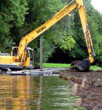 Рытье водоема в санкт-петербурге и области
