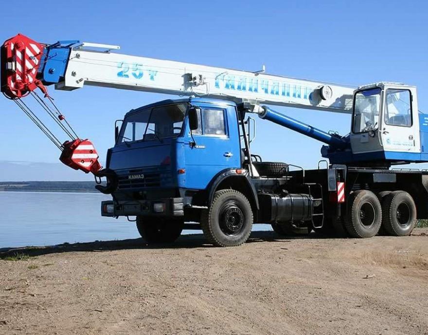 Автокран Галичанин КС-55713-1 25 тонн