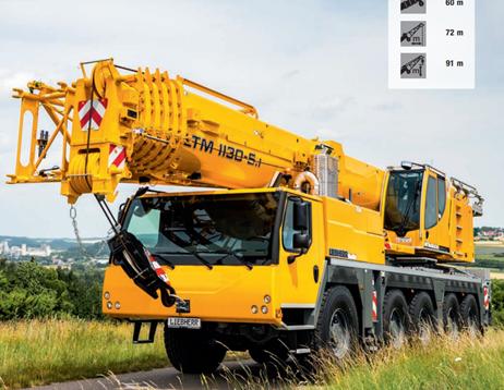 Автокран Liebherr LTM 1130-5.1 130 тонн