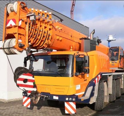 Автокран Grove GMK 5130-2 грузоподъёмностью 130 тонн