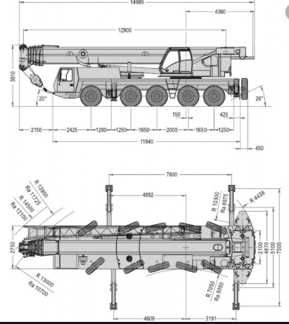 Автокран Grove GMK 5130-2 130 тонн
