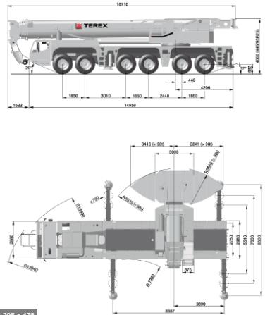 Автокран Demag AC 250 250 тонн