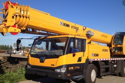 Автокран XCMG QY25K5S грузоподъёмностью 25 тонн