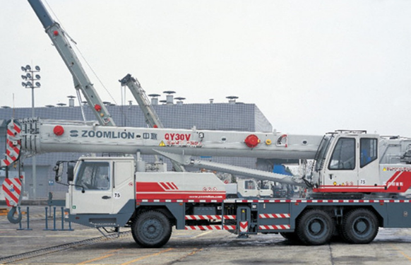 Автокран ZOOMLION QY30V, 32 т