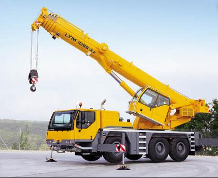 Автокран Liebherr LTM 1055 грузоподъёмностью 55 тонн