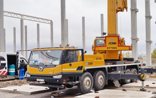Автокран XCMQ 70K2 грузоподъёмностью 70 тонн