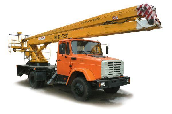 Аренда автовышки для выполнения строительных работ