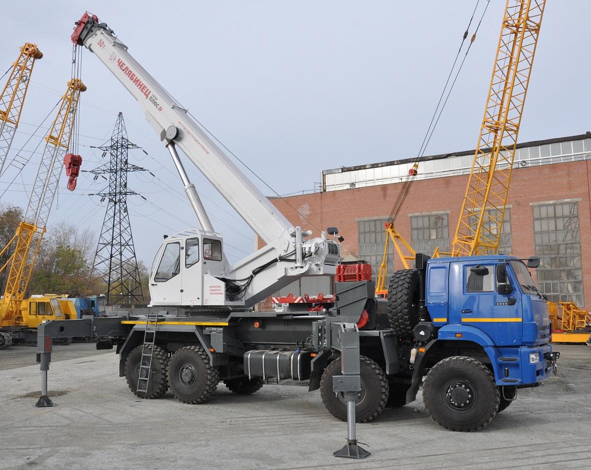 Автокран КС-65760 грузоподъёмностью 60 тонн