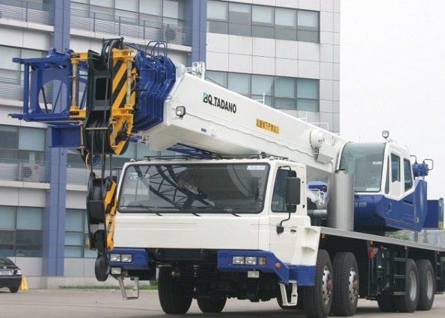 Автокран Tadano GT 550E грузоподъёмностью 55 тонн