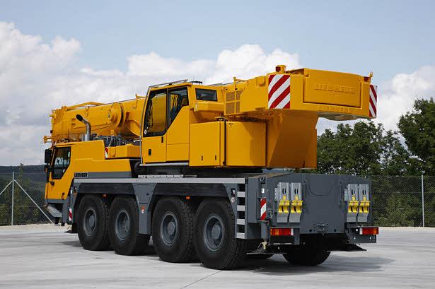 Автокран Liebherr LTM 1250-6.1 грузоподъёмностью 250 тонн