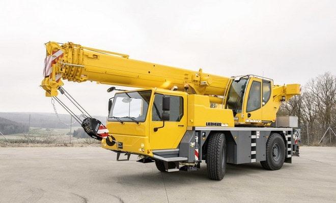 Автокран  Liebherr LTM 1030 -2.1 грузоподъёмностью 35 тонн
