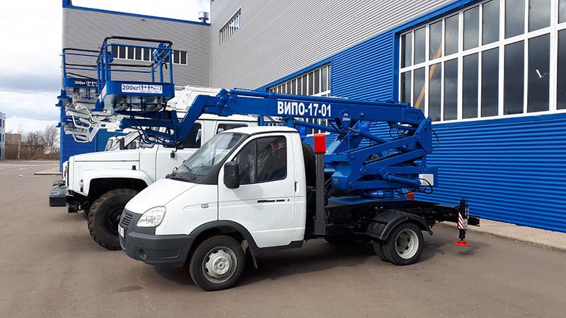 Автовышка ВИПО-17-01 ГАЗ-3302