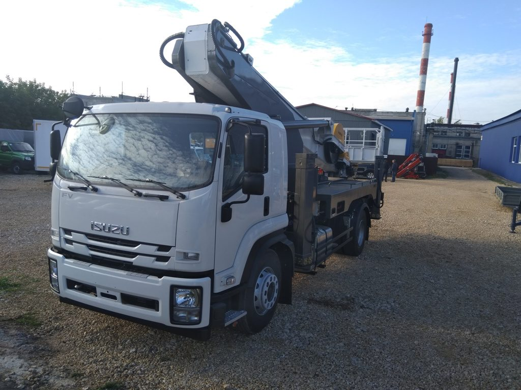 Автовышка NOVAS-350 ISUZU FORWARD 18.0