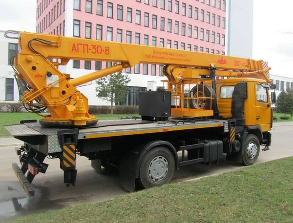 Автовышка АГП-30 КАМАЗ-43118