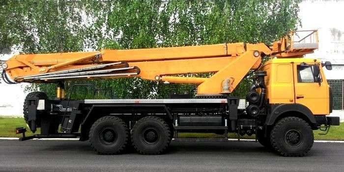 Автовышка МАЗ АГП-40