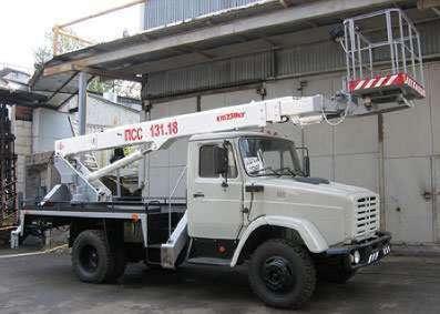 Автовышка АГП-18.04 ЗИЛ-4333623